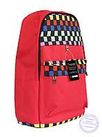 Рюкзак с этно рисунком - красный - 8150, фото 1