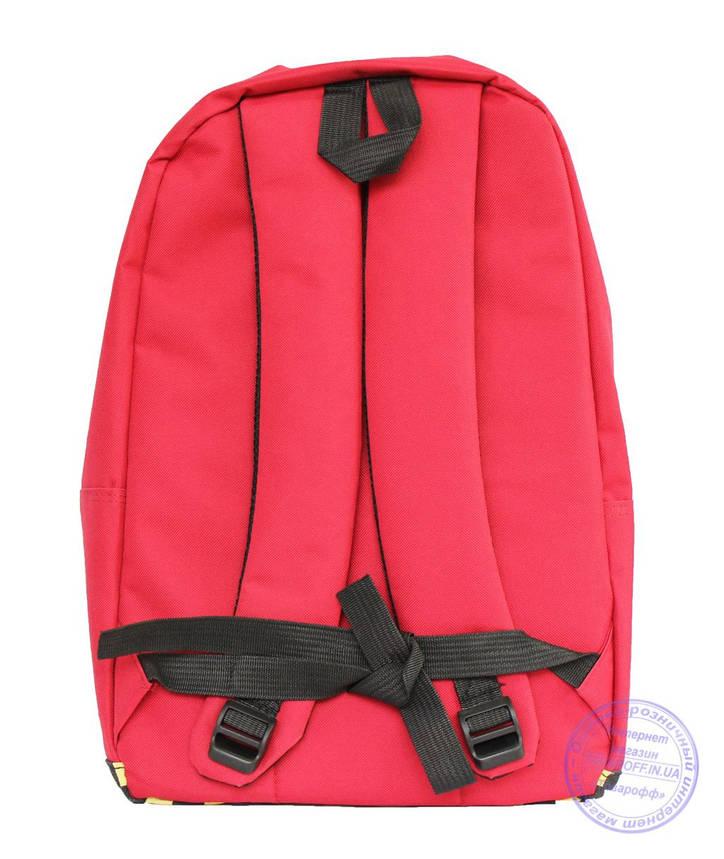 Рюкзак с этно рисунком - красный - 8150, фото 2