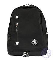Универсальный черный рюкзак - 8152