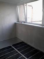 Теплый пол в квартире на лоджии площадью 8 м2 под линолеум