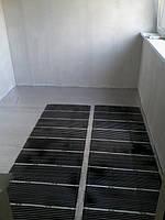 Теплый пол в квартире на лоджии площадью 8 м2 под линолеум 2