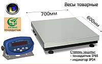 Товарные весы Аксис BDU150-0808-Б, до 150 кг,  размер площадки 800х800 мм