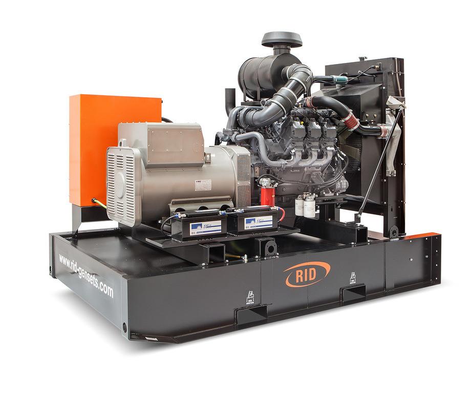 Трьохфазний дизельний генератор RID 300 S-SERIES (240 кВт) відкритий + автозапуск