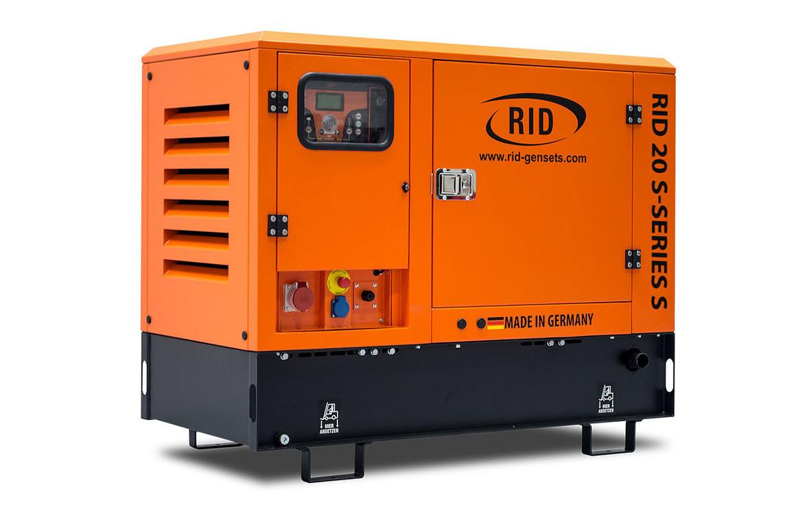 Дизельний однофазний генератор RID 20/1 S-SERIES S (16 кВт) в капоті + зимовий пакет + автозапуск