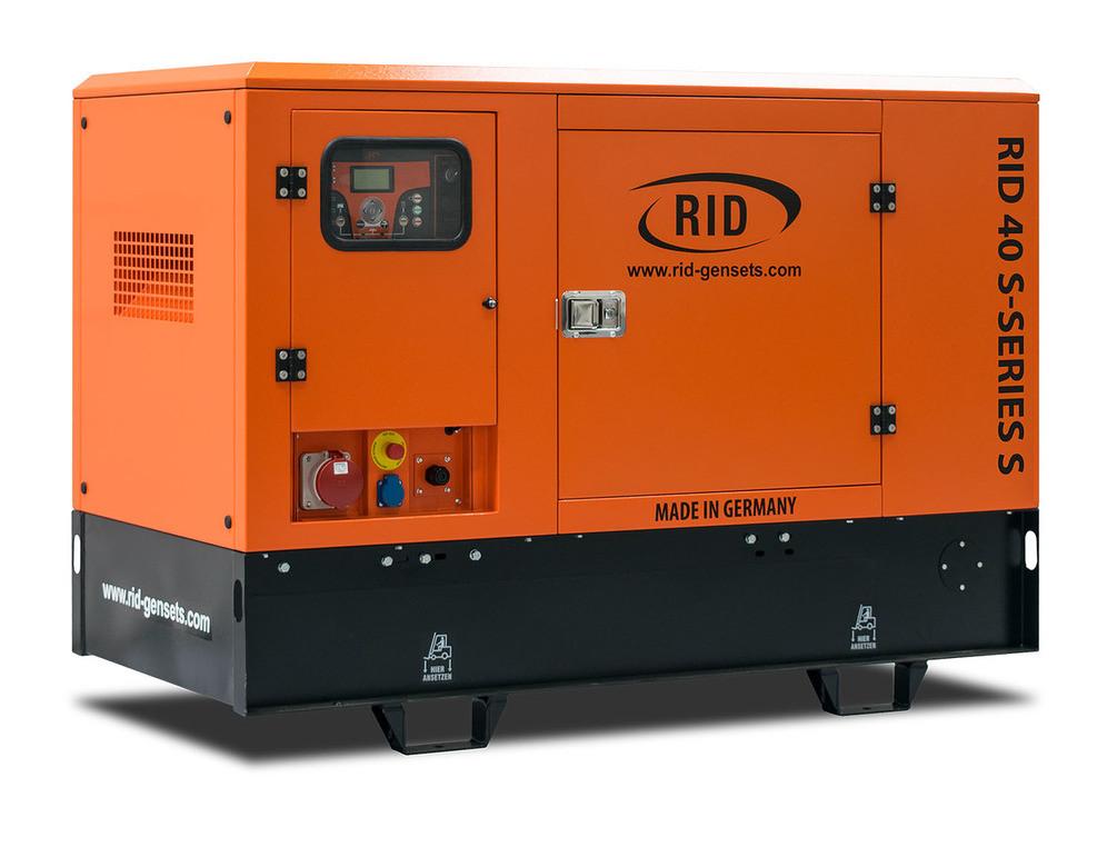 Трьохфазний дизельний генератор RID 40 S-SERIES S (32 кВт) в капоті + зимовий пакет + автозапуск