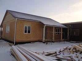 Дом из СИП панелей готов.