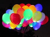 Запуск шаров со светодиодом. Шары со светодиодами