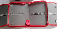 Пенал Одинарный с 2 отворотами Ралли №7115 Китай