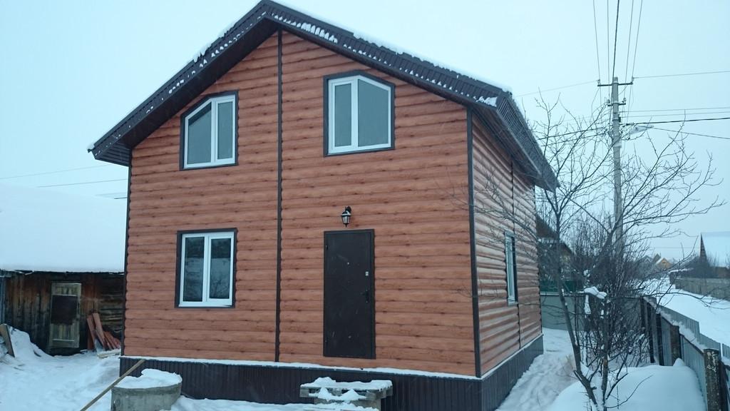 Строительство жилого одноэтажного дома с мансардой