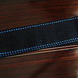 Ремень гитарный E`xito ST-50 BLK BLUE, фото 5