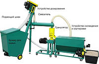 Линия гранулирования комбикормов до 150 кг/час