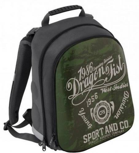 """Суперудобный школьный рюкзак для мальчика, 20 л. CFS EVA фасад 15"""", """"Young Division"""" 730 CF85462 зеленый"""
