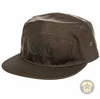 Летняя кепка ( бейсболка , снепбек ) Crooks and Castles The Triumph 5 Panel Hat in Olive Drab ( хаки )
