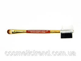 Кисть подвійна для очей і брів № 132 Salon Professional