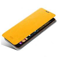 Mofi New Rui book leather case for Sony Xperia T3 , yellow