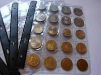 Листы для монет на 20 ячеек SCHULZ