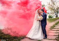 Красный дым для фотосессии, Цветной дым Jorge, червоний дим