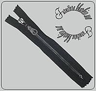 Молния металлическая карманная №5 оксид (черный металл)