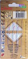 Набор пилочек для лобзика Rebir 102104 T118A По металлу  5шт