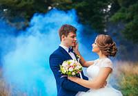 Синий дым для фотосессии, Цветной дым Jorge smoke, синій дим