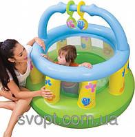 Детский надувной игровой центр (130х104см.) 48474 Intex