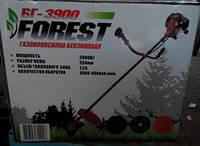 Бензокоса Forest БГ-3900 2ножа+1леска+1 паук