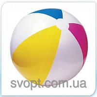 Мяч надувной разноцветный (61см) 59030 Intex