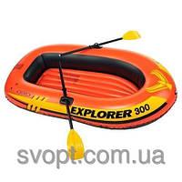 Надувная лодка Explorer - 300 Set (211х117х41см) Intex 58332