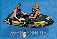Надувная лодка Intex 68347 Seahawk 2