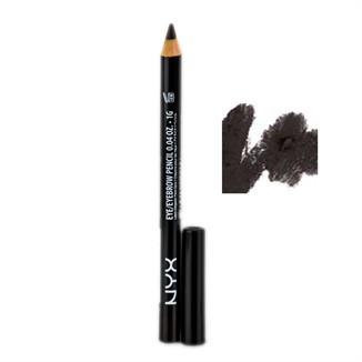 Черно-коричневый карандаш для глаз NYX Slim Eye Pencil