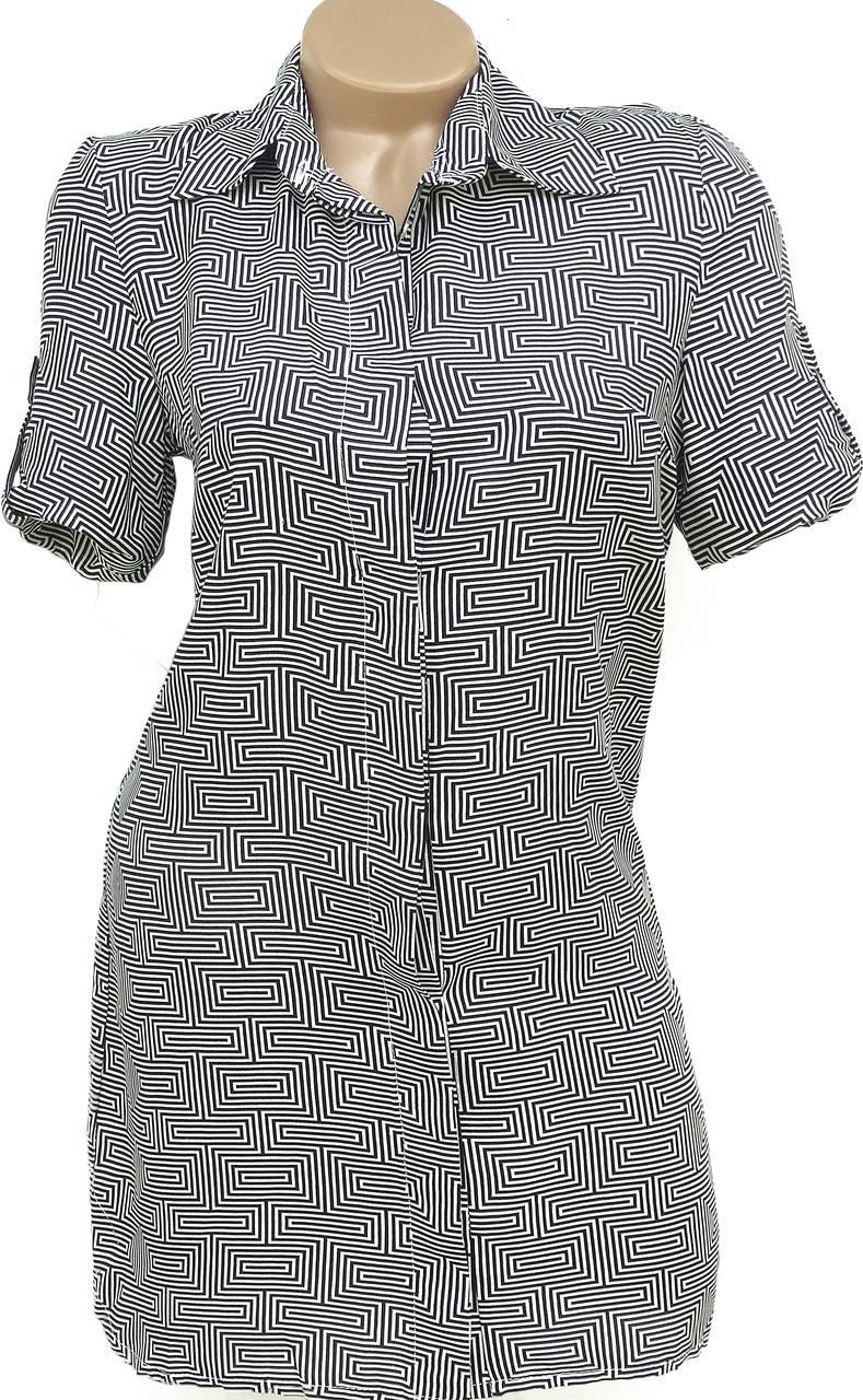 Модная летняя рубашка-платье (40)