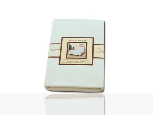 Простынь на резинке трикотажная (папирус) 180х200