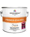 Грунт Эмаль 3 в 1(преобразователь ржавчины,грунтовка,эмаль) вишневый 2,8 кг