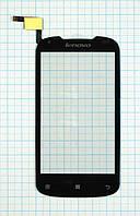 Тачскрин сенсорное стекло для Lenovo A750 black