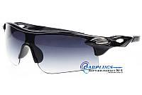 Очки защитные  с темными градиентными  линзами, UV400 защита.