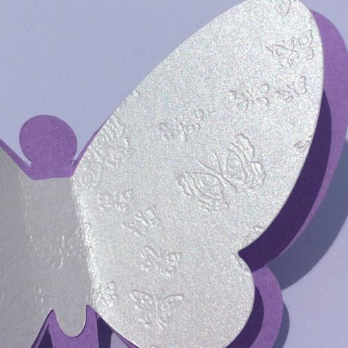 Набор декоративных бабочек 3d Сказка (двухслойные, картонные, скотч в комплекте)