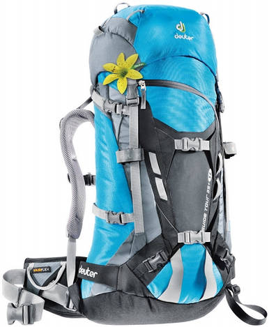 Рюкзак туристический женский Deuter Guide Tour 35+ SL turquoise/black (33644 3711)
