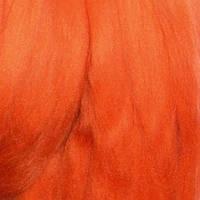 Гребенная лента Валяшка 0670 морковный 100г