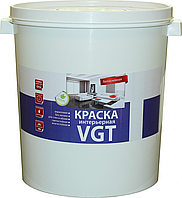 Краска в/д влагостойкая VGT белоснежная 45 кг