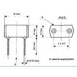 КС162А Стабилитрон 6,2 V кремниевый, сплавный, двуханодный, фото 2