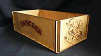 Ящик-кашпо деревянный 27,5х15х9 см 110\80 (цена за 1 шт. +30 грн.)