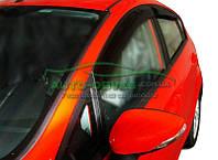 "Ветровики на окна Форд Фиеста 5D H/B 2007-2013 ""SIM"""