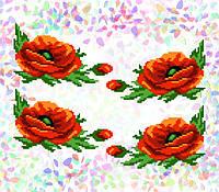 Флизелин водорастворимый с рисунком Арт. 210