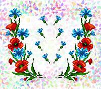 Флизелин водорастворимый с рисунком Арт. 218