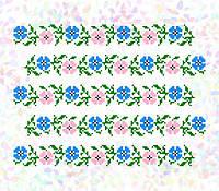 Флизелин водорастворимый с рисунком Арт. 284