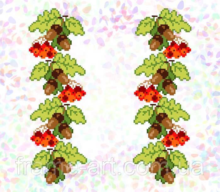 Флизелин водорастворимый с рисунком Арт. 291
