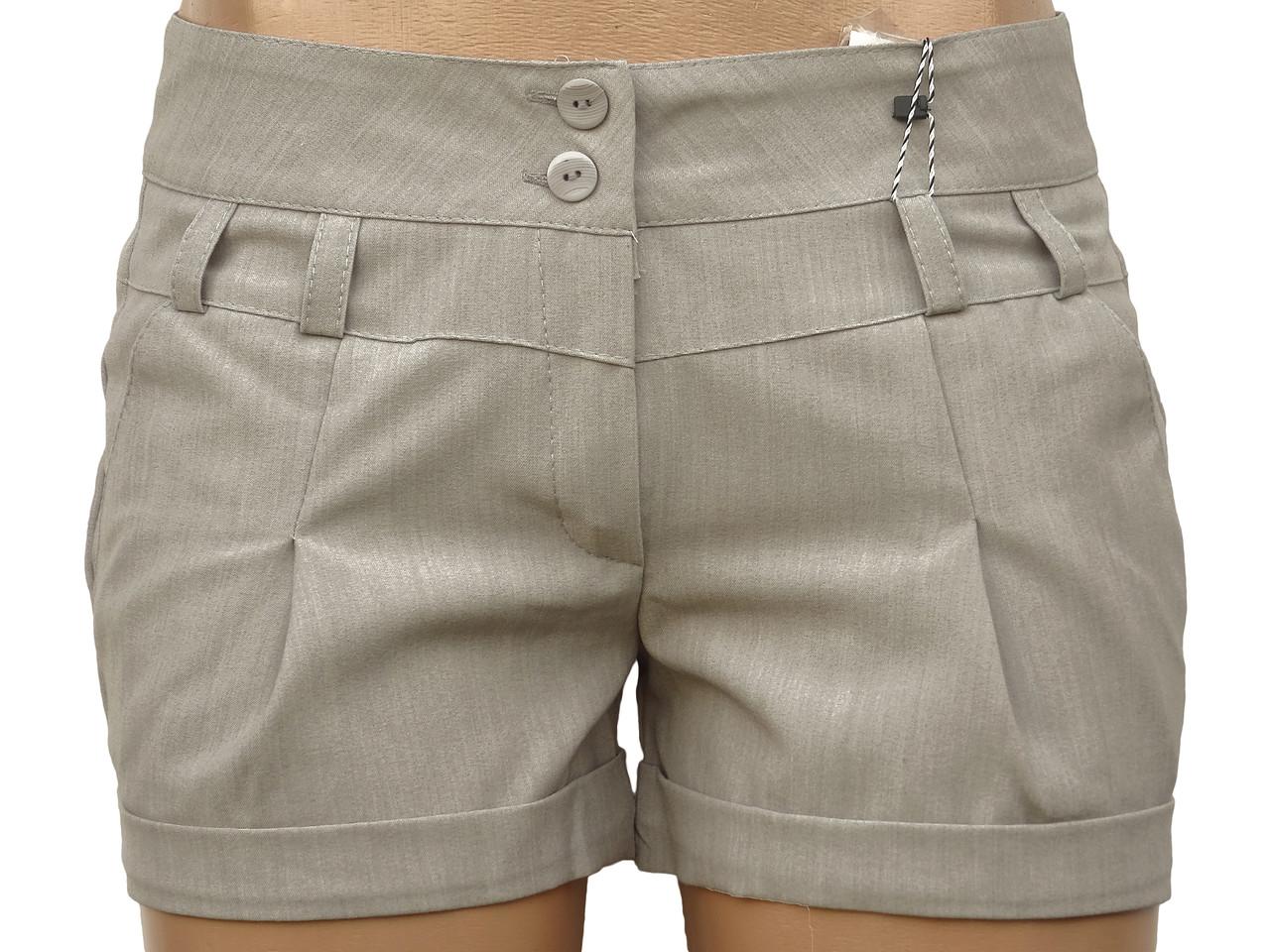 Короткие женские шорты (в расцветках 40,42)