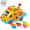 Игрушка Huile Toys Веселый автобус 988, фото 5