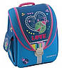 """Школьный рюкзак-трансформер 6+ для девочки, голубой CFS 14"""", """"Ladybug"""" 710 CF85603"""