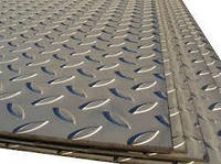 Лист рифленый 5 мм стальной металлический, ГОСТ 8568-77, рифленные листы ст металл цена